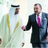 جلالة الملك يستهل زيارة عمل و أخوة لدولة الإمارات