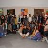 افتيتاح معرض للفن التشكيلي من طرف مجموعة من الفنانين المغاربة والمصرين