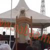 """بالفيديو : خطبة صلاة عيد الفطر من مصلى """"عين حرودة""""."""